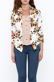 MICHEL Floral Blazer - Front full body