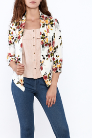 MICHEL Floral Blazer - Front cropped