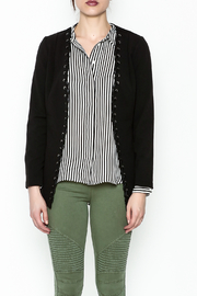 MICHEL Lace Up Blazer - Front full body