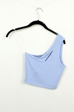 Shoptiques Product: One Shoulder Sleeveless Tank Top