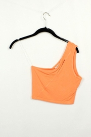 MICHEL One Shoulder Sleeveless Tank Top - Front cropped