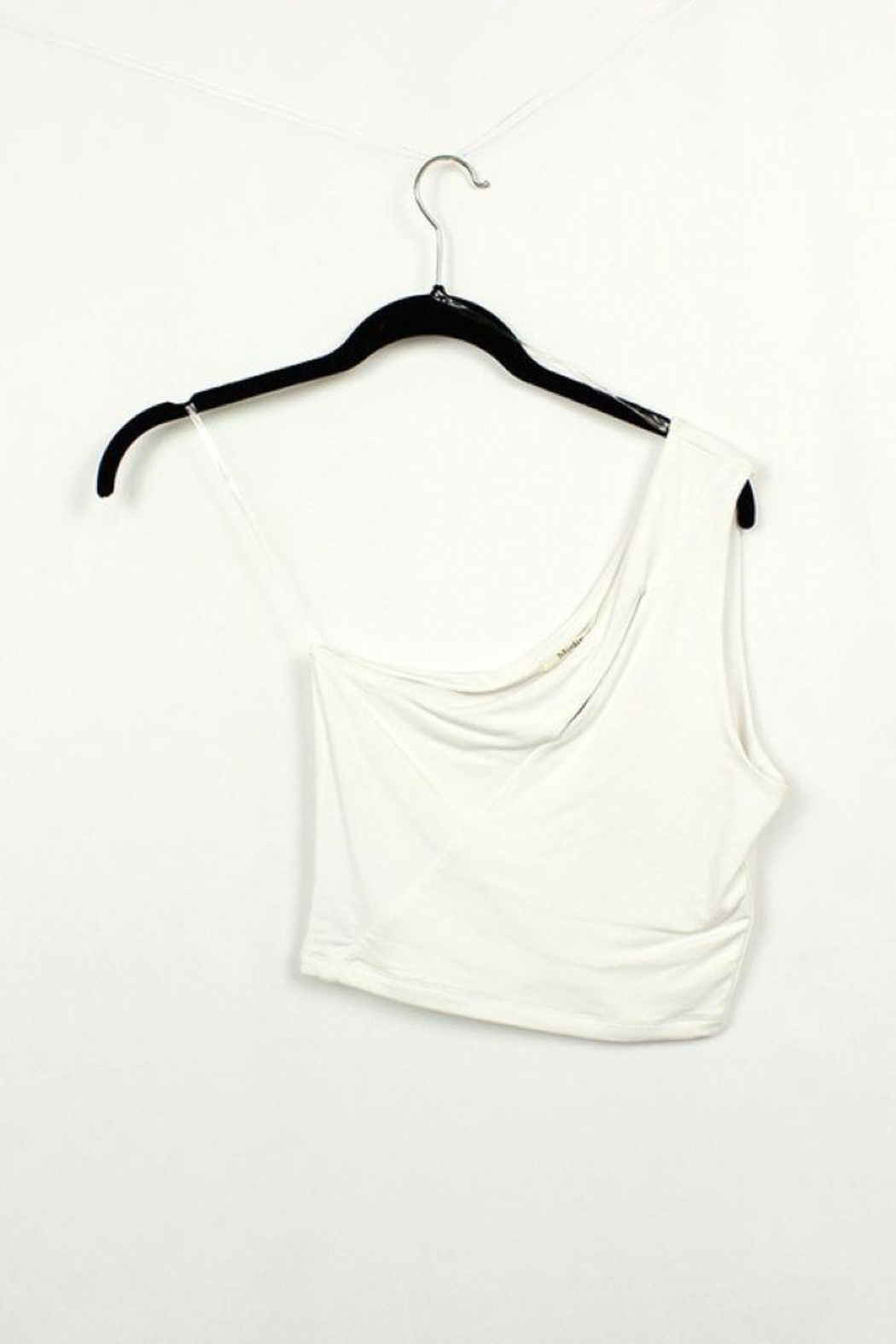 MICHEL One Shoulder Sleeveless Tank Top - Front Full Image