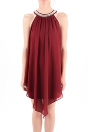 MICHEL Pearl Neck Dress - Other