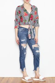 MICHEL Tie Bottom Blouse - Other
