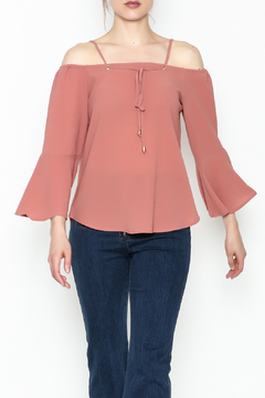 Shoptiques Product: Tie Top Blouse