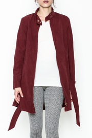 MICHEL Zip Up Jacket - Front cropped