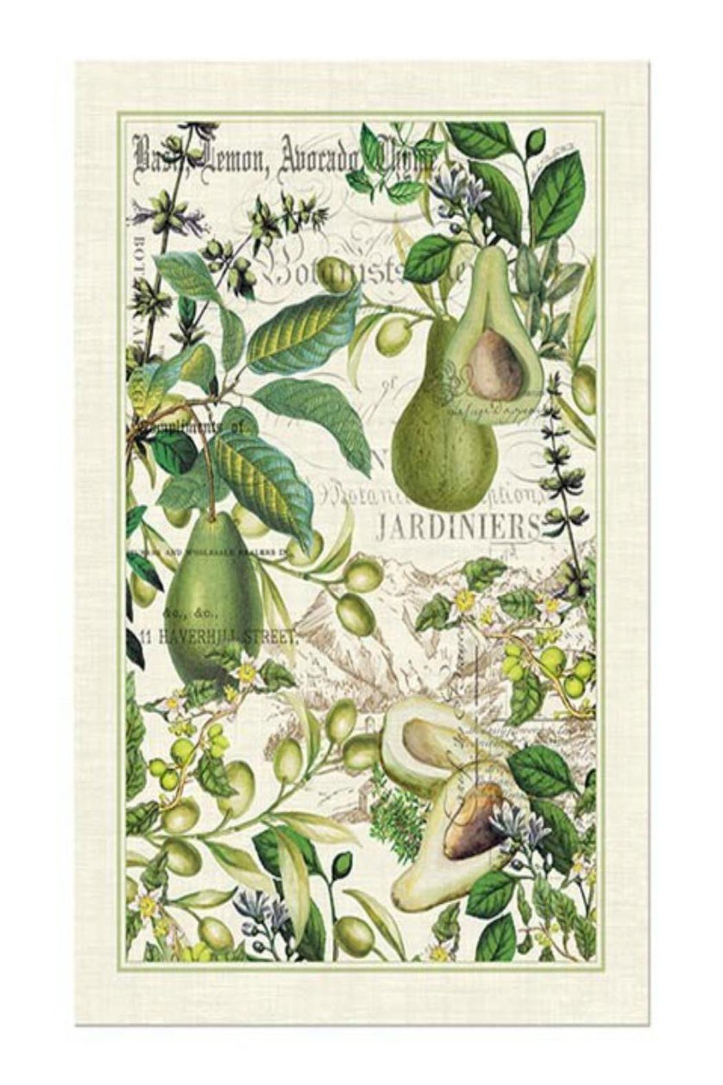 Michel Design Works Avocado Kitchen Towel From Virginia By Studio Eleven Sh