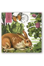 Michel Design Works Bunny Cocktail Napkins - Product Mini Image
