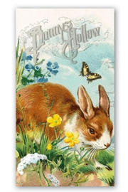 Michel Design Works Bunny Hollow Hostess Napkin - Product Mini Image
