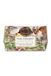 Michel Design Works Bunny Hollow Large Bath Soap Bar - Product Mini Image