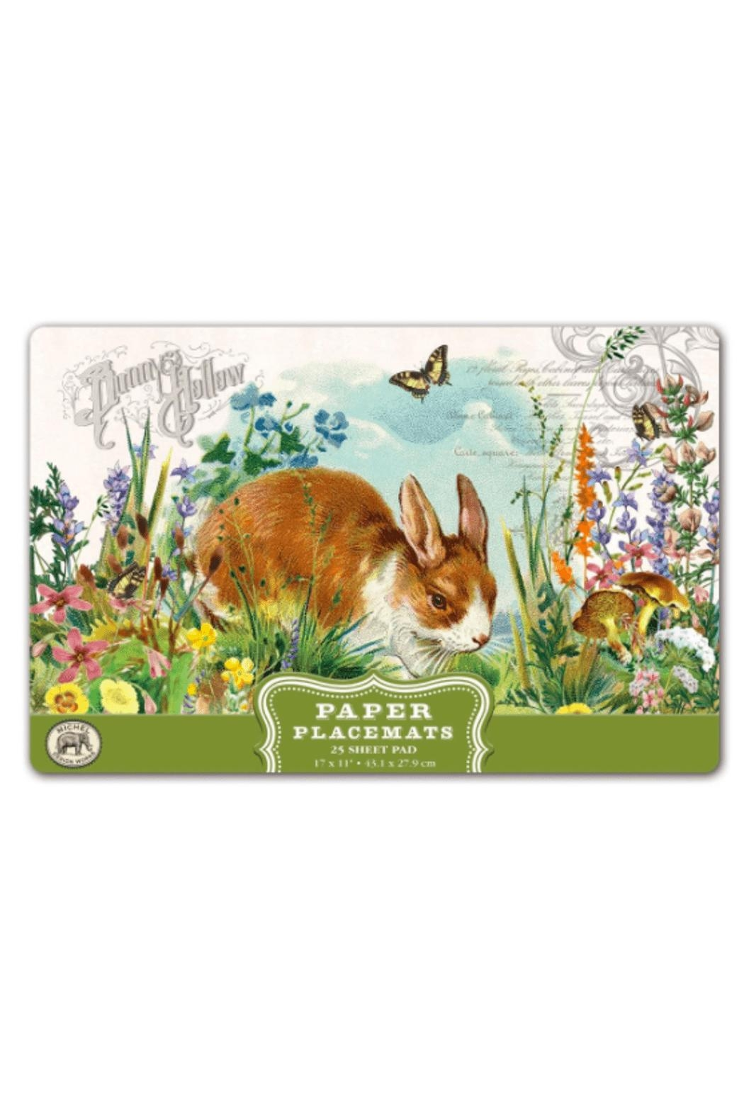 Michel Design Works Bunny Hollow Placemats - Main Image