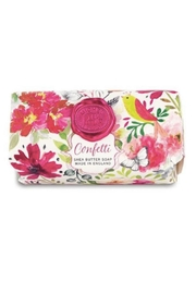 Michel Design Works Confetti Large Bath Soap Bar - Product Mini Image