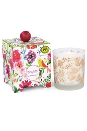 Michel Design Works Confetti Soy Wax Candle - Front cropped