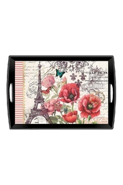 Michel Design Works Decoupage Wooden Tray - Front cropped