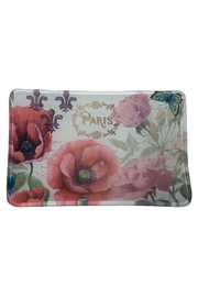 Michel Design Works Glass Soap Dish - Front cropped