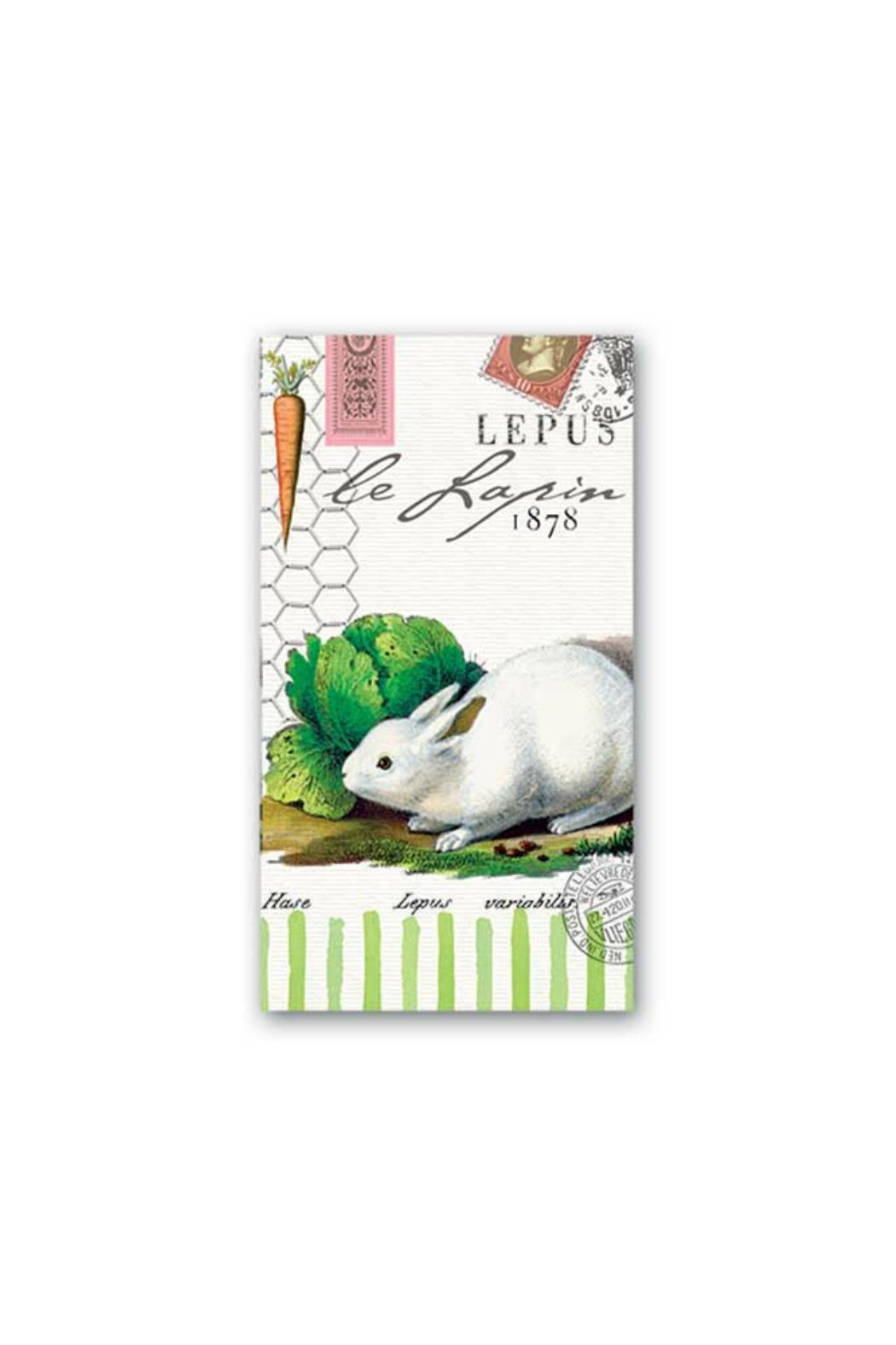 Michel Design Works Lapin Guest Napkins - Main Image