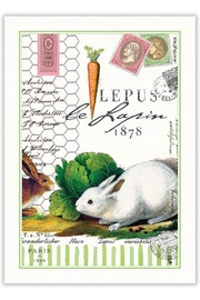 Michel Design Works Lapin Kitchen Towel - Product Mini Image