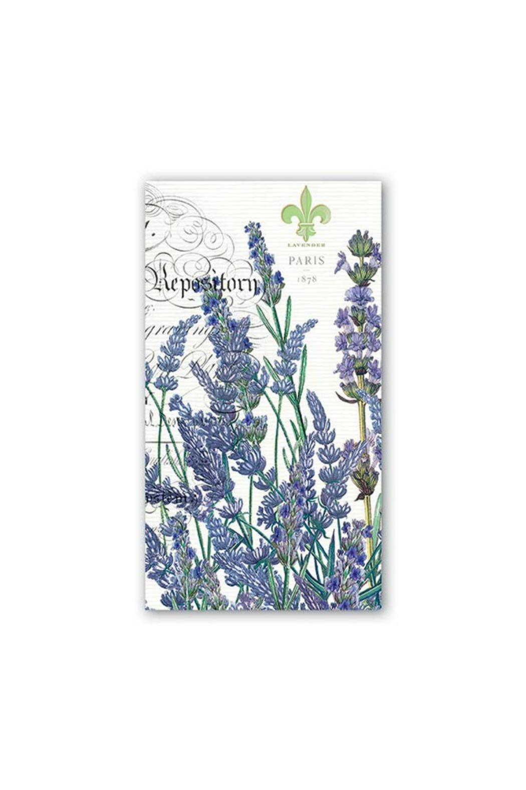 Michel Design Works Lavender Guest Napkins - Main Image