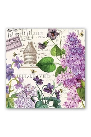 Michel Design Works Lilac Luncheon Napkin - Product Mini Image