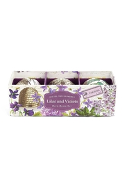Michel Design Works Lilac & Violet Bathbombs - Product Mini Image