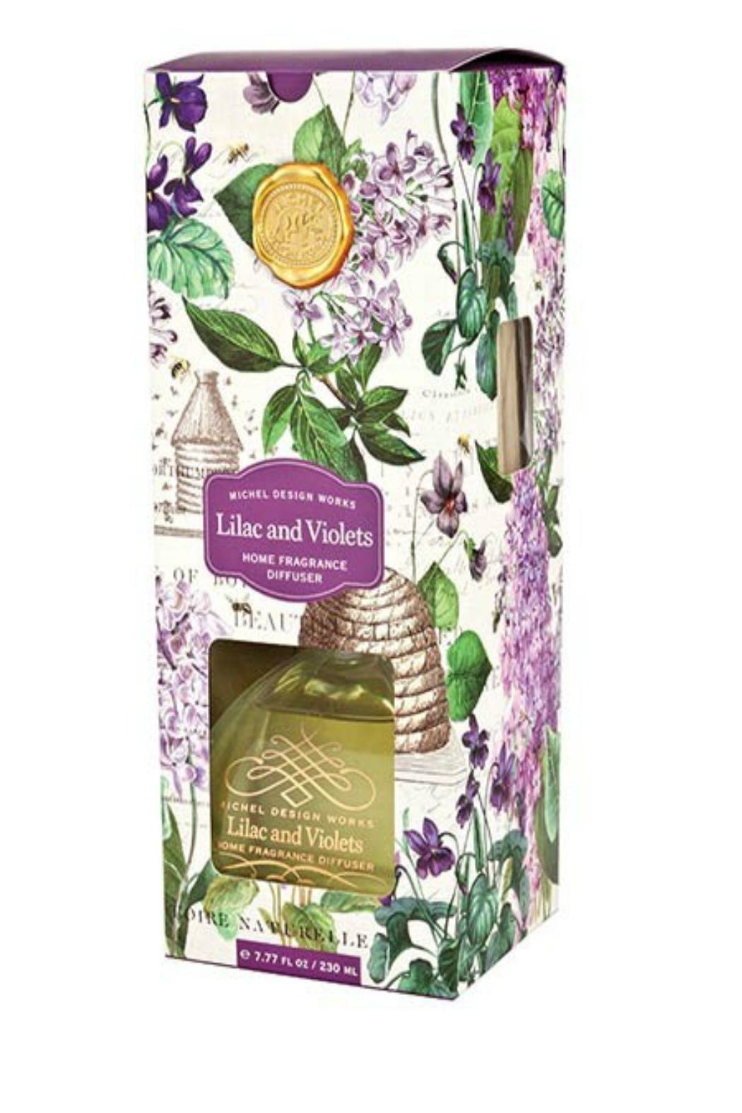 Michel Design Works Lilacs & Violets Diffuser From San