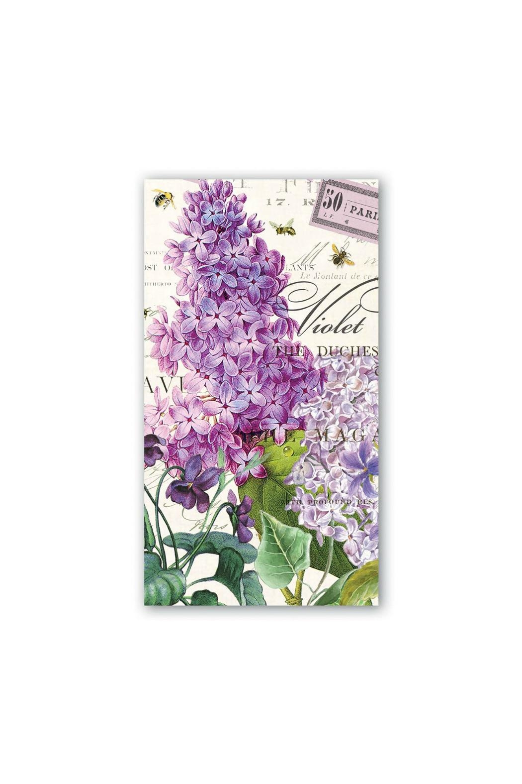 Michel Design Works Lilacviolets Hostess Napkins - Main Image