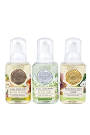 Michel Design Works Mini Foaming Soap Set: Bunny Toile, Bunny Hollow, Lapin - Product Mini Image