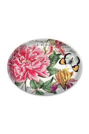 Michel Design Works Peony Glass Soap Dish - Front cropped