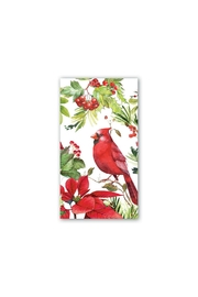 Michel Design Works Poinsettia Hostess Napkins - Product Mini Image