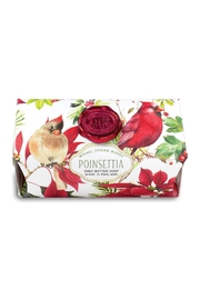 Michel Design Works Poinsettia Soap Bar - Product Mini Image