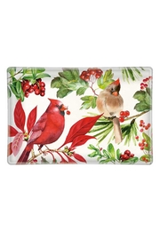 Michel Design Works Poinsettia Soap Dish - Product Mini Image