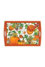 Michel Design Works Pumpkin Melody Tray - Product Mini Image