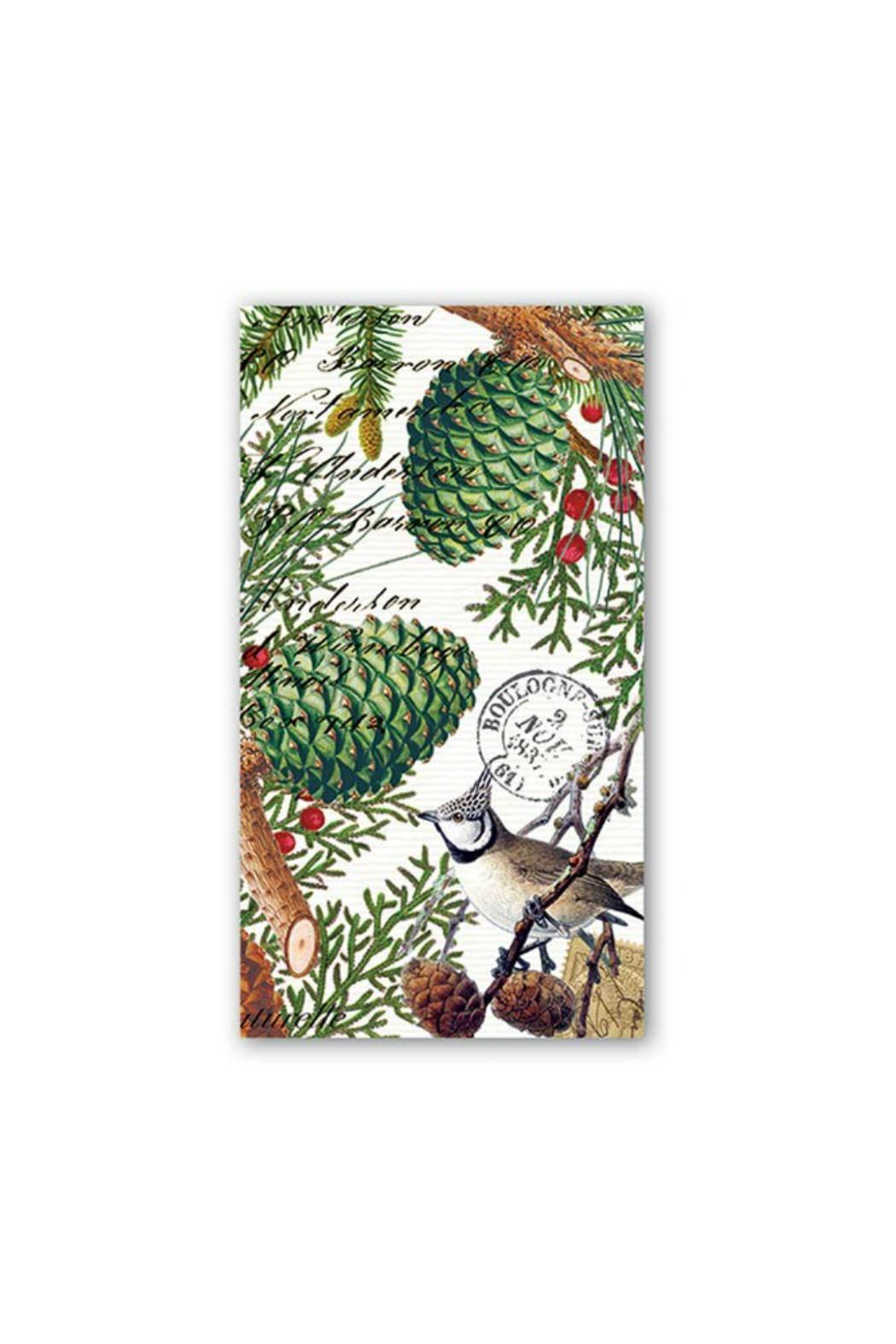 Michel Design Works Spruce Hostess Napkins - Main Image