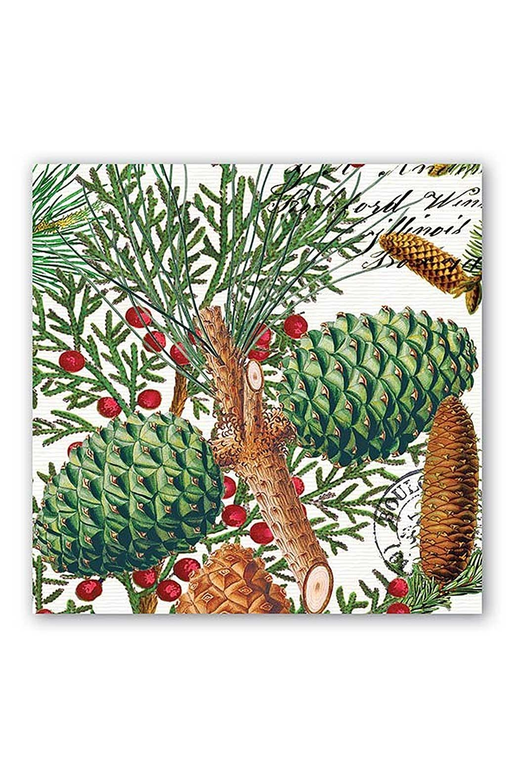 Michel Design Works Spruce Luncheon Napkins - Main Image
