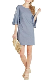 Mud Pie Michele Chambray Dress - Product Mini Image