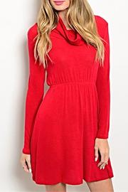 Michele Poppy Red Dress - Product Mini Image