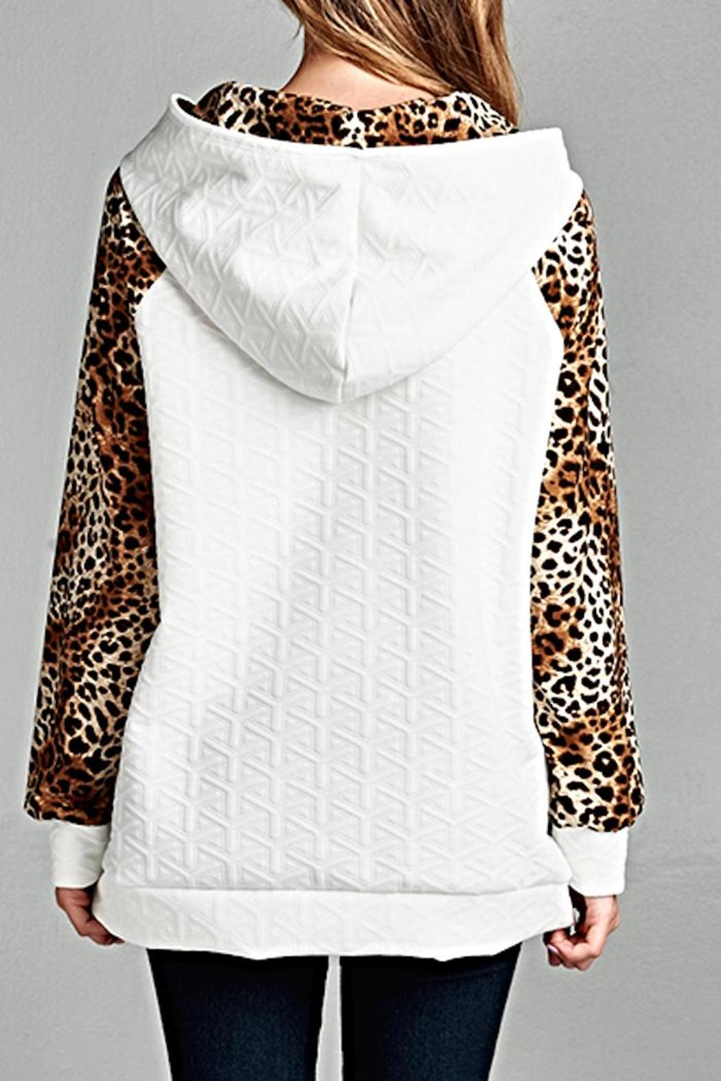 693efb1e1960 Michele Snow Leopard Hoodie from Louisiana by MICHELE — Shoptiques