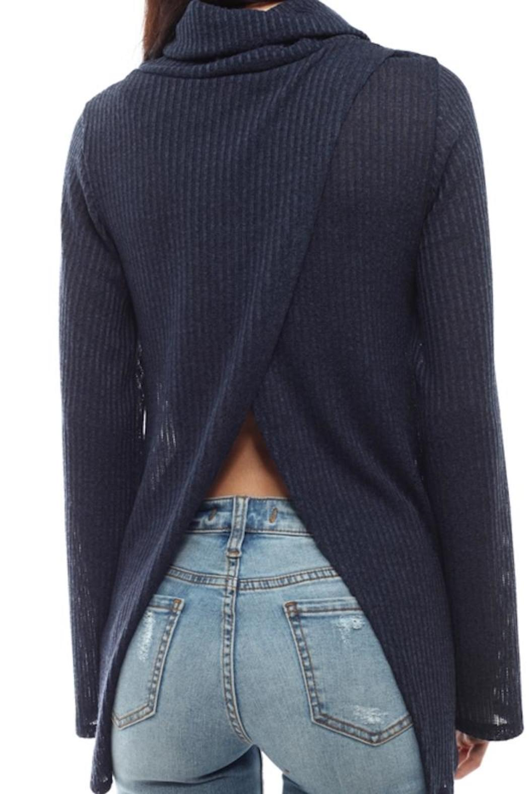 michele split back sweater from louisiana by michele shoptiques