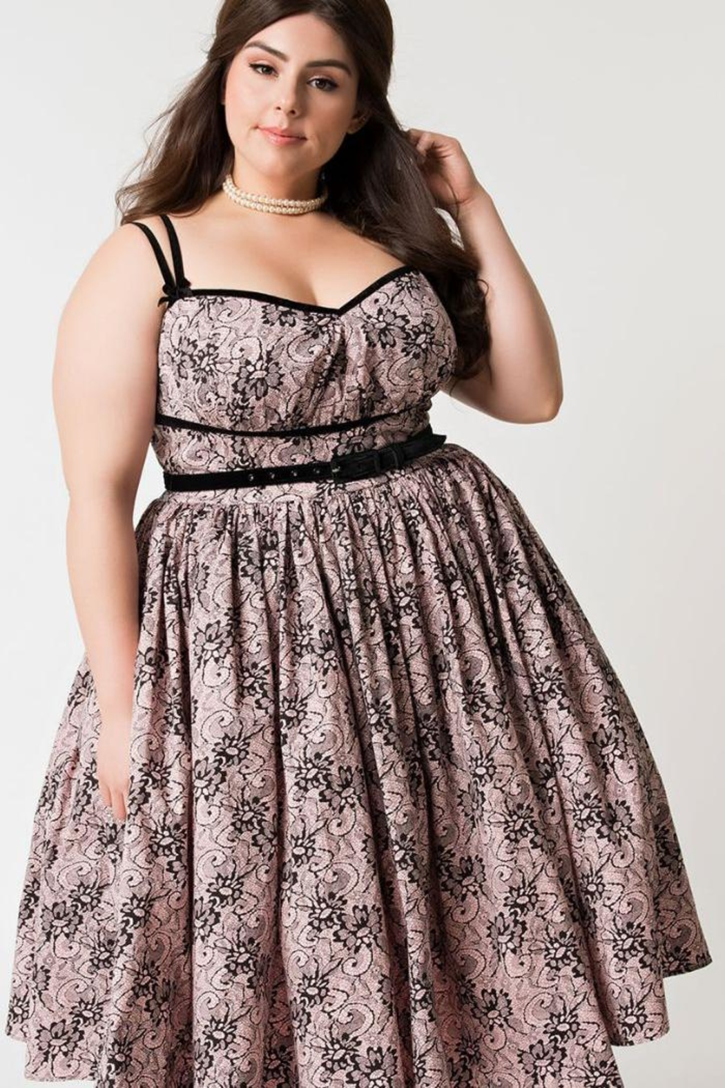 ac1366c1ce3 Unique Vintage Micheline Pitt Alice-Swing-Dress from Omaha by Daisy ...