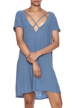 Michelle by Comune Criss-Cross T-Shirt Dress - Product List Image