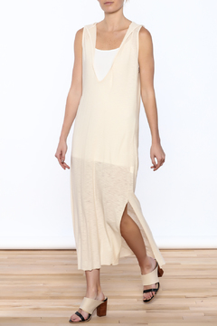 Shoptiques Product: Plunge Neck Hooded Dress