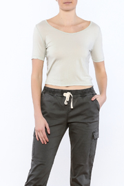 Michelle by Comune Tie Back Crop Top - Product Mini Image