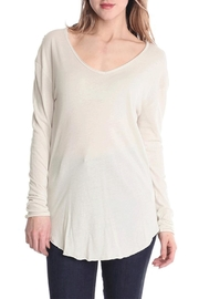 Michelle Raw Edge Top - Front cropped