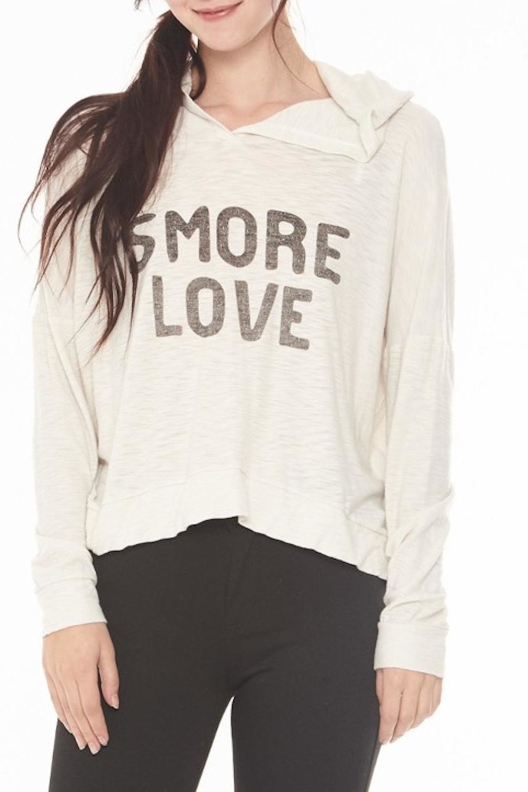 Michelle Smore Love Hoodie - Front Cropped Image