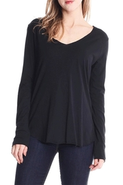 Michelle V Neck Top - Product Mini Image