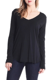 Michelle V-Neck Top - Front cropped