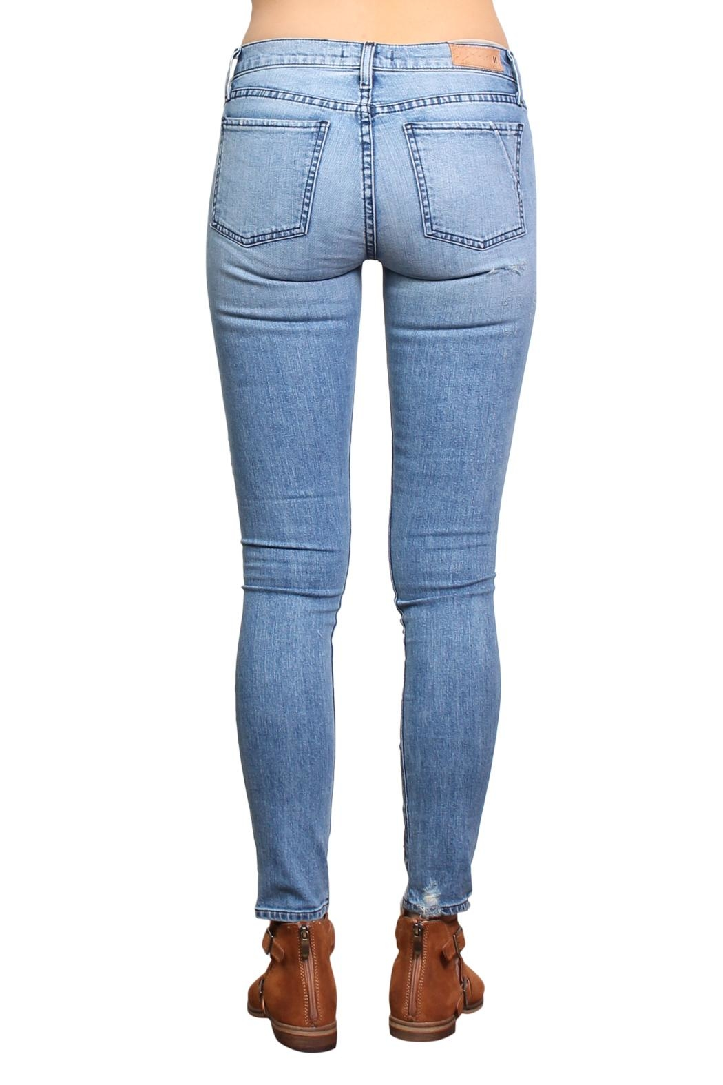 Michelle by Commune London Skinny Jeans - Back Cropped Image