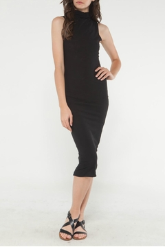 Michelle by Comune Black Sleeveless Midi Dress - Product List Image