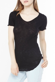 Michelle by Comune Black Stretchy Shirt - Product Mini Image