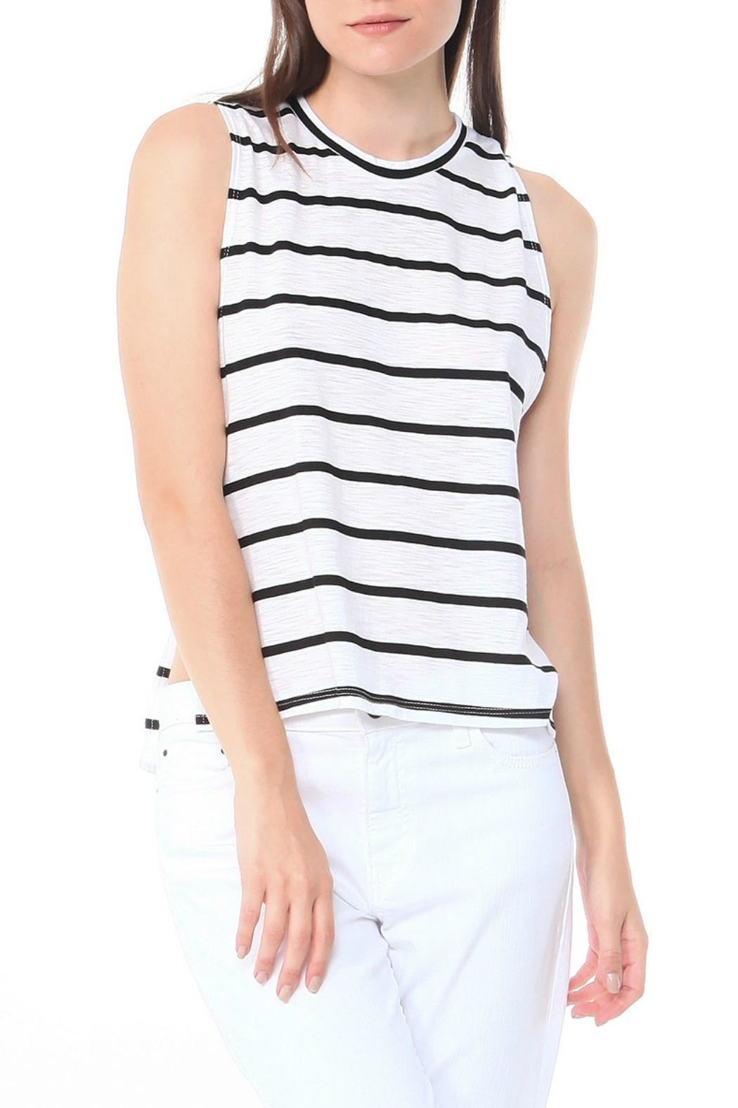 Michelle by Comune Chic Striped Tank - Main Image